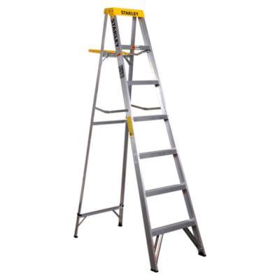 Escalera plegable de aluminio 7 escalones