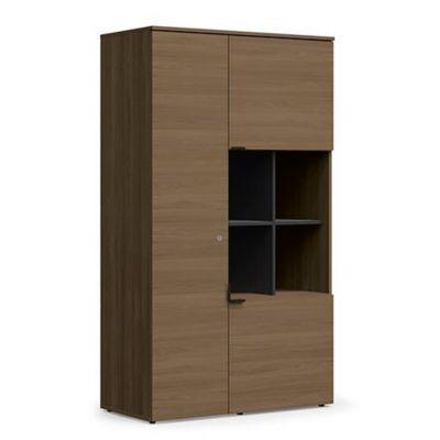 Biblioteca frame 3 puertas 4 estantes