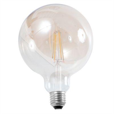 Lámpara LED globo 7.5 W dimerizable cálido