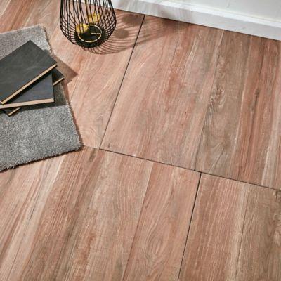 Cerámica de interior 56 x 56 Pino marrón oscuro 2.17 m2