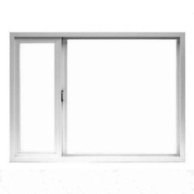 Ventana PVC vidrio simple 150 x 110 cm