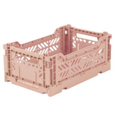 Caja plástica midi rosa viejo