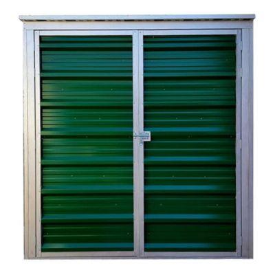 Caseta lineal verde 80 x 200 x 210 cm
