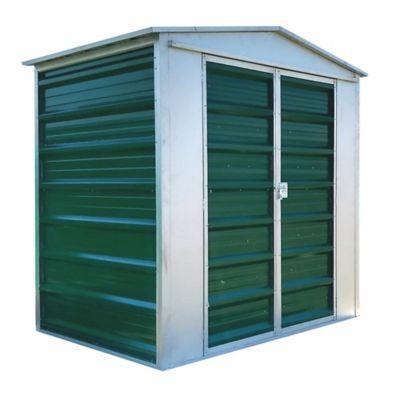 Caseta galponcito verde 120 x 150 x 190 cm