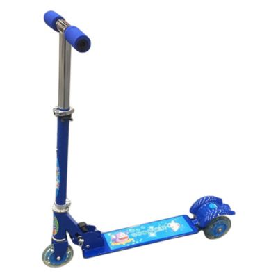 Scooter metálico azul