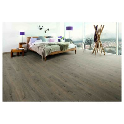 Piso flotante 10 mm Murom roble oscuro 1.74 m2
