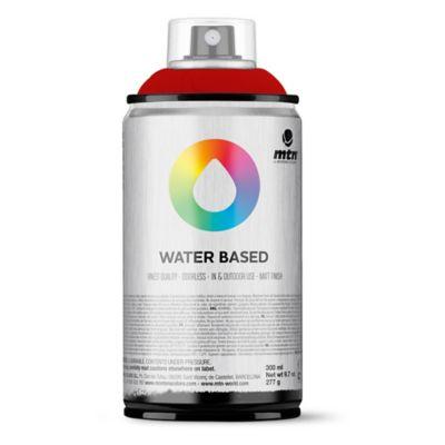 Pintura en aerosol al agua rojo profundo 300 cc