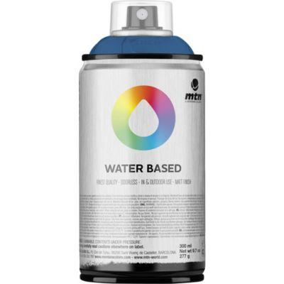 Pintura en aerosol al agua azul marino 300 cc