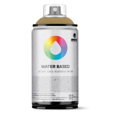 Pintura en aerosol al agua café raw 300 cc