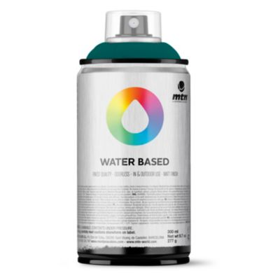Pintura en aerosol al agua esmeralda profundo 300 cc