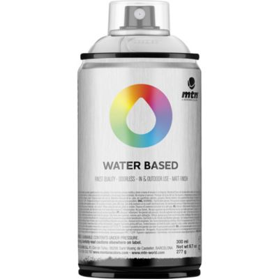 Pintura en aerosol al agua barniz brillante 300 cc