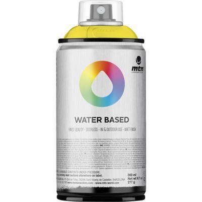 Pintura en aerosol al agua amarillo 300 cc