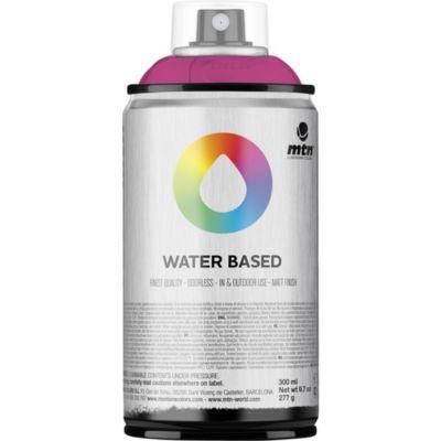 Pintura en aerosol al agua fucsia flúor 300 cc