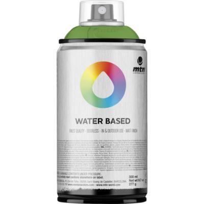 Pintura en aerosol al agua verde brillante 300 cc