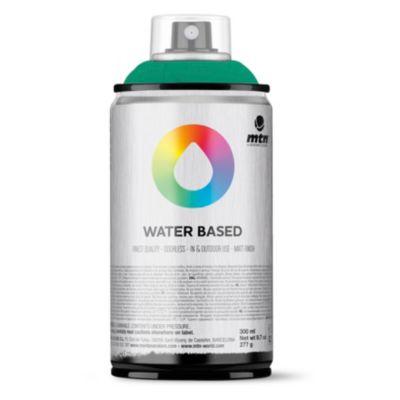 Pintura en aerosol al agua verde esmeralda 300 cc