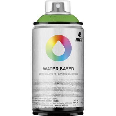 Pintura en aerosol al agua verde flúor 300 cc