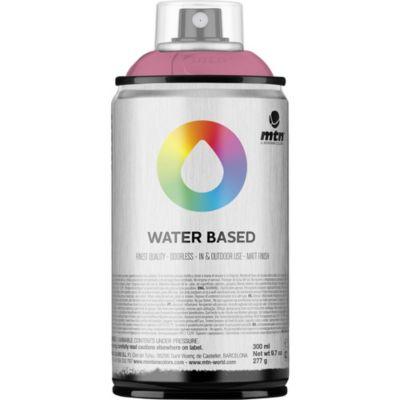 Pintura en aerosol al agua rosa 300 cc