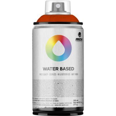 Pintura en aerosol al agua rojo flúor 300 cc