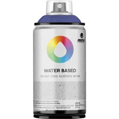 Pintura en aerosol al agua lila 300 cc