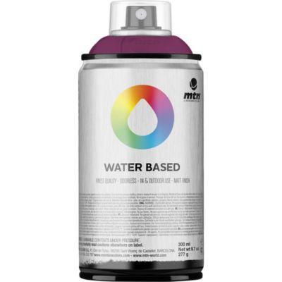 Pintura en aerosol al agua azul violeta 300 cc