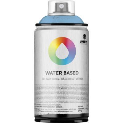 Pintura en aerosol al agua azul cobal 300 cc
