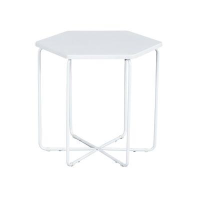 Mesa de comedor Colmena blanca