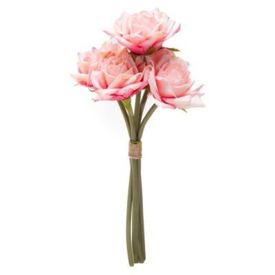 Flor artificial Bouquets rosa 25 cm