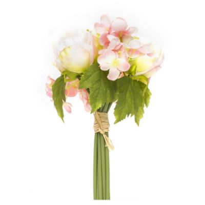 Flor artificial bouquets light rosa 30 cm