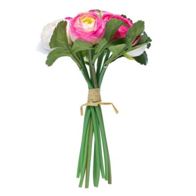 Flor artificial Bouquets rosa 24 cm
