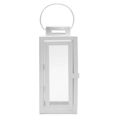 Farol de vidrio Rom 10 x 10 x 23 cm