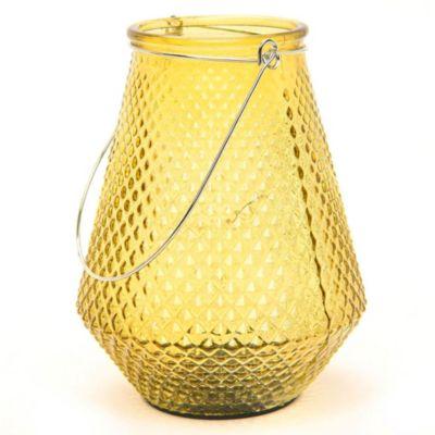 Fanal LED a pilas ambar 12 x 15 cm