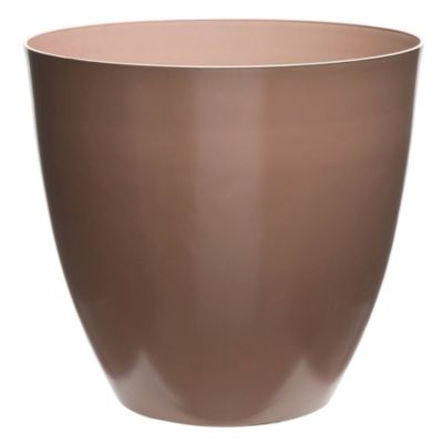 Maceta circular plástica rosa 30 cm