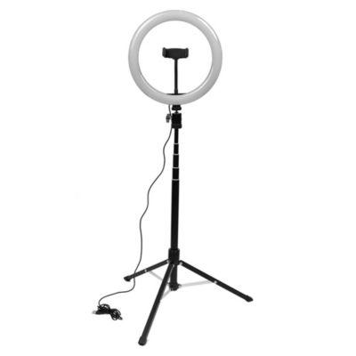 Aro de luz LED 15 W 30 CM con tripode 1.5 m