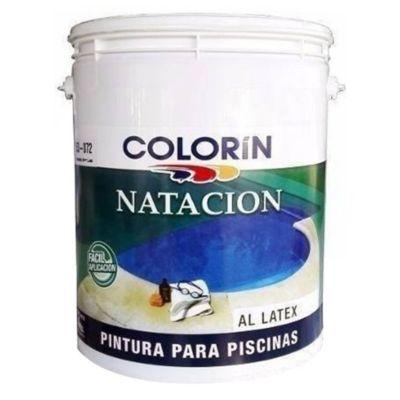 Pintura para piletas acuoso azul 20 l