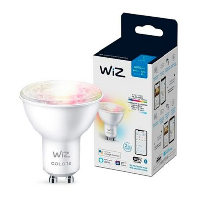 Foco LED Wifi TW 4.9W GU10 Colores