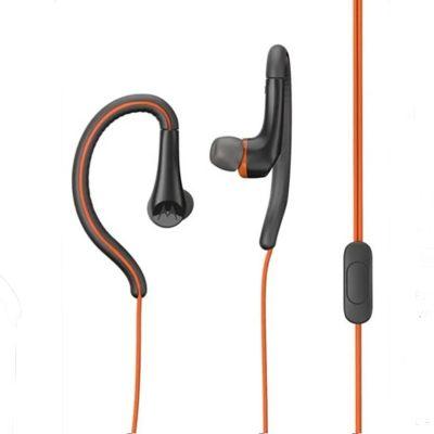 Auriculares earbuds sport naranja