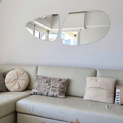 Espejo para baño laqua rio 45 x 66 cm