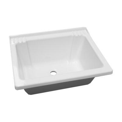 Bacha para lavadero blanco 59 cm