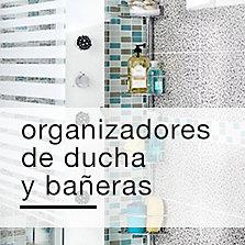 Organizadores de ducha y bañeras