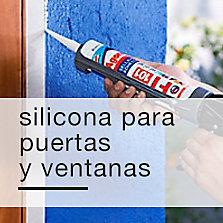 Silicona para puertas y ventanas