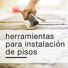 Herramientas para instalación de pisos