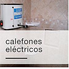 Calefones eléctricos