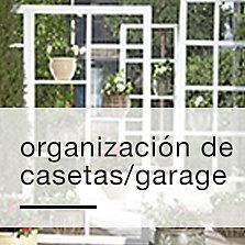 Organización de casetas/garage