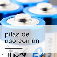 Pilas de uso común