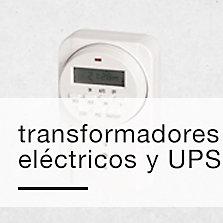 Transformadores eléctricos y UPS