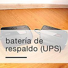 Baterías de respaldo (UPS)
