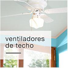 Ventiladores de techo y accesorios