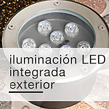 Iluminación LED integrada exterior