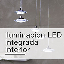 Iluminación LED integrada interior