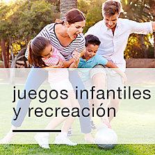 Juegos infantiles y recreación
